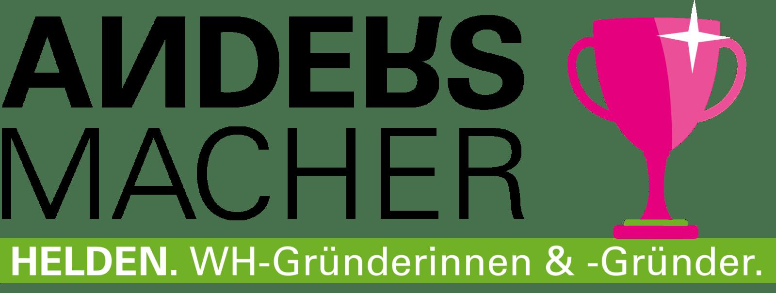 Andersmacher Grafiken für Gruenderinnen und Gruender der W-HS