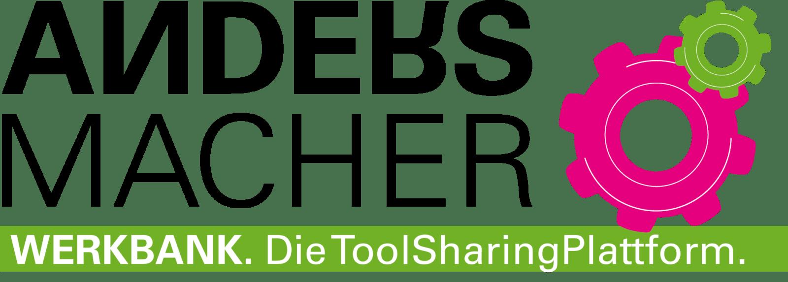 Andersmacher Grafiken für die ToolSharingPlattform, Werkbank