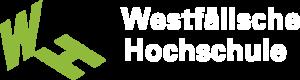 Logo in Gruenweiss der Westfaelische Hochschule